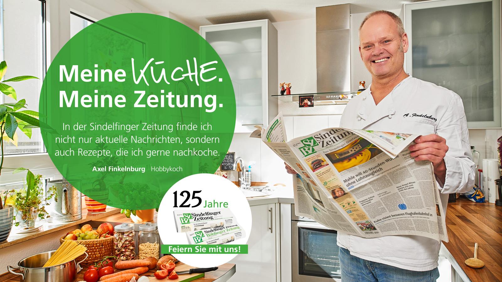 Hobbykoch Axel Finkelnburg für die SZ/BZ