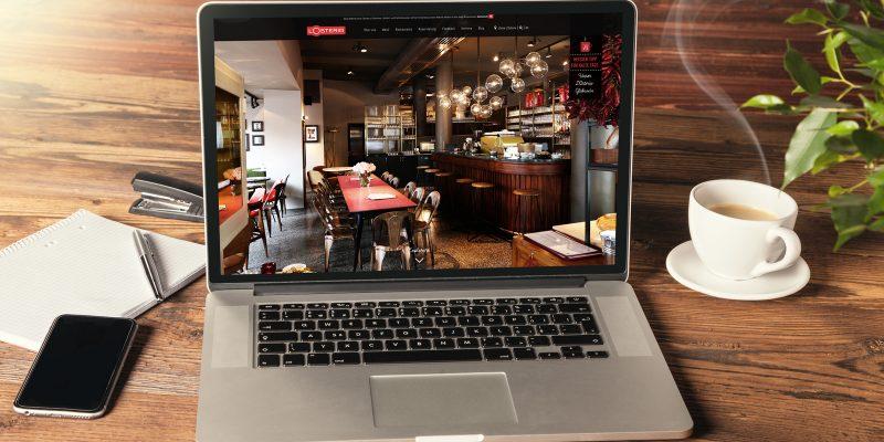 L Osteria Website