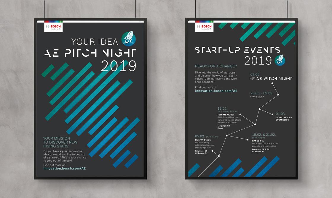 Bosch Innovationskampagne Plakat